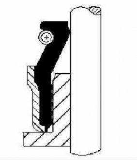 Сальник гидроусилителя руля (гура) Corteco 12051545